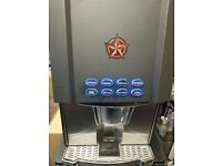 Commercial COFFETEK OPTION Bean to Cup 3 Canister Coffee Machine