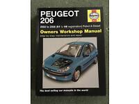 Peugeot 206 Owners Workshop Manual