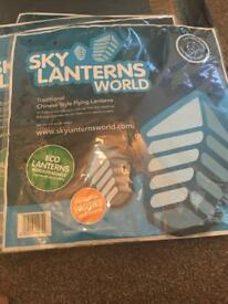 Eco friendly sky lanterns