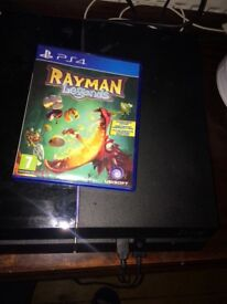 Playstation 4 500 gb,boxed with rayman legends