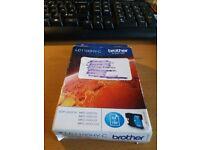 Brand new Brother LC1100HY-C (Cyan) printer cartridge