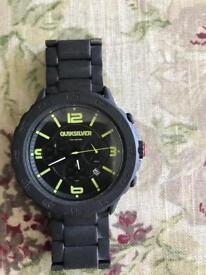 Quicksilver men's chronograph watch