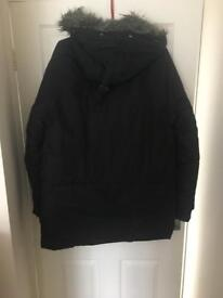 Mens FRED PERRY down feather jacket M