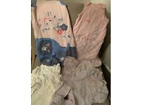 Baby vests, sleepsuits and sleeping bags up to 12 months