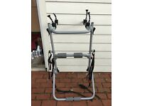 3 bike Meyster carrier for car/motorhome Perfect working order - all straps, fittings & instructions