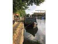Wonderful Widebeam 62 x 10 with London Mooring at Springfield Marina