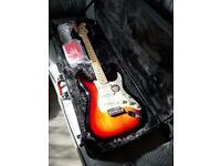American standard Stratocaster. Custom shop fat 50 pickups