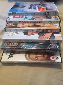 6 Chick Flick DVDs