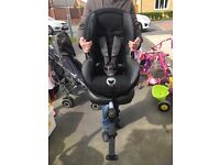 Britax isofix car seat stage 1, with several recline positions and 5 point harness!