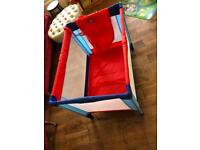 Baby travel cot/ baby jail SOLD
