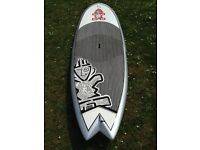 paddle board starboard pocket rocket 8.5 in excellent condition