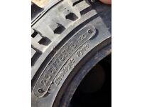 X5 Off road mud tyres, 265/75R16 plenty of tread
