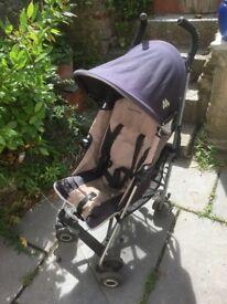 Maclaren buggy stroller pushchair