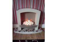 Electric fire for sale in excellent condition pick up only sunderland area