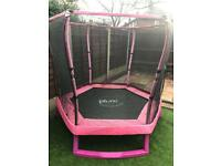 7ft Plum Pink Trampoline RRP £200