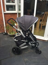 Joolz geo pushchair, mono ridge limited edition