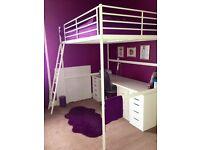 Bargain, bargain, bargain. Bunk bed and desk for sale.