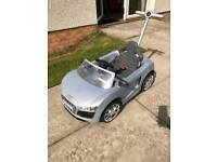 Audi push buggy
