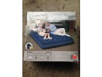 *** Comfort Quest Double Airbed With Pump *** £20