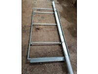 VW Caddy Roof Rack and Pipe Carrier