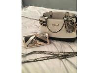 River island hand bag and purse
