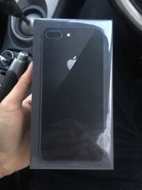 Sealed space grey iPhone 8 Plus 256gb brand new with receipt