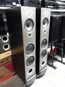 Polk Audio Tower Speakers, We Sell Used Speakers, Get a Deal! #43429