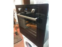 BELLING BLACK SINGLE FAN OVEN, very clean and ready to use