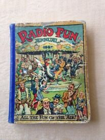 FOR SALE - RADIO FUN ANNUAL 1947