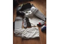Full junior cricket kit