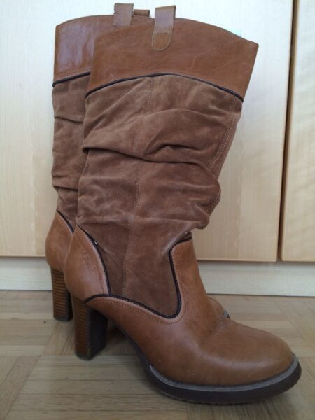 stiefel boots braun gr 40 in bayern puchheim ebay. Black Bedroom Furniture Sets. Home Design Ideas