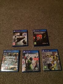 Sony PS4 500g with games