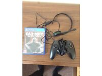Headset/Xbox one controller/BO3