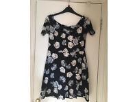 Summery skater skirt dress