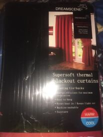 Blackout super soft thermal curtains