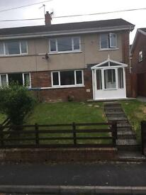 3 Bedroom Semi detached house.