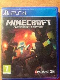 PS4 minecraft game