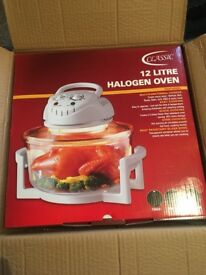 Brand new boxed halogen oven