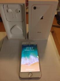 iPhone 8, 64gb Gold on Vodaphone