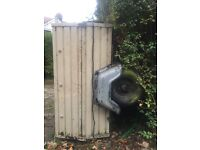 FREE Towing lockable trailer