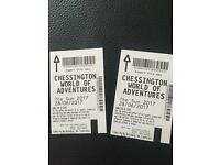 2 tickets to chessington world of adventure