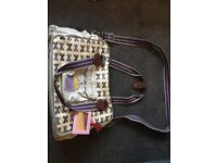 Pink Lining Yummy Mummy changing bag in good condition