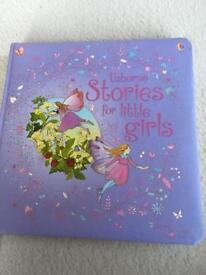USBORNE - STORIES FOR LITTLE GIRLS. HARD BACK.
