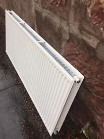 Double convection radiator
