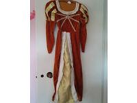 girls tudor costume 134-146cm