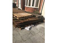 Pallets and wood free