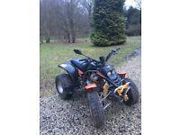 2004 SMC 250 Quad.... Road Legal....In Fair Condition