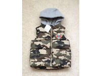 NEXT Padded Coat / Body Warmer AGE 9-12