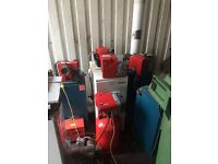Oil burners and boilers for sale