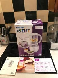 Philips Avent 4 in 1 healthy baby food maker (steam, blend, defrost & reheat)
